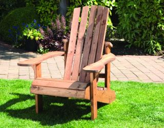 Charles Taylor Aidendack Wooden Garden Chair