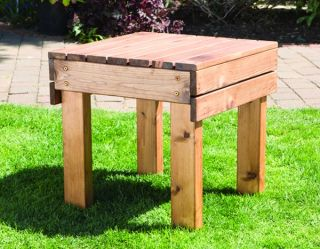 Charles Taylor Wooden Garden Drinks Table 51cm