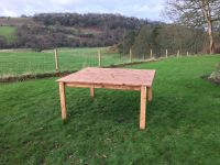 8 Seat Square Dining Table - 167cm