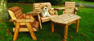 Little Fella's Redwood Childrens' Multi Companion Seat with Table
