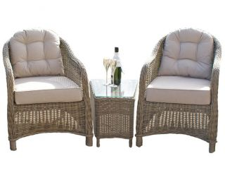 Maze Rattan - Winchester 2 Seater Lounge Set