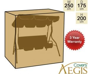 Green Swing Cover Aegis W250 x D175cm - Deluxe