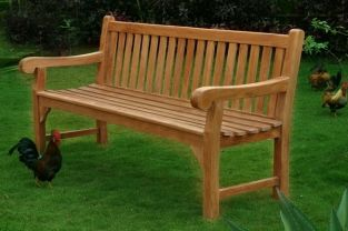 Dan Nardi Big Classic 1.8m (5ft 11in) Teak Bench by Liz Frances™