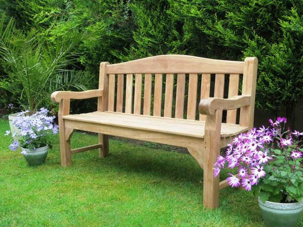 Oxford 1.5m (4ft 11in) Teak Bench by Liz Frances™
