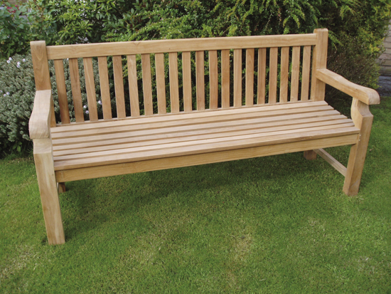 Wycombe 1.8m (5ft 11in) Teak Bench by Liz Frances™
