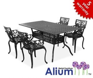 Alium™ Lincoln 4 Seater Rectangular Dining Set