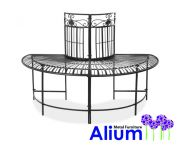 Alium™ Saponara Steel Tree Seat - Half Circle