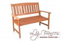 Richmond Hardwood 2 Seater 1.2m Garden Bench by Liz Frances™