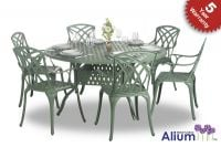 Alium� Washington 6 Seater Round Dining Set