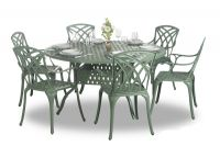 Alium™ Washington 6 Seater Round Dining Set