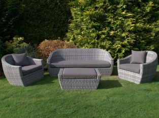 Ravello Three Seat Sofa Set