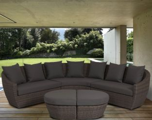 Ravello Curved Corner Standard  Lounge Set