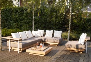 London Teak Lounge Set