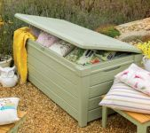 Verdi Saxon Storage Box 390LT in Green