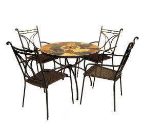 Pomino Standard With 04 Treviso Chairs
