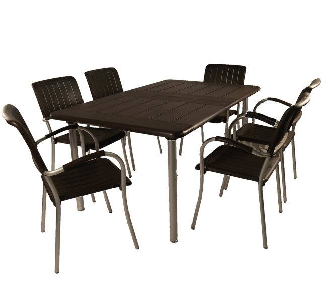 Coffee Maestrale 220 Standard With 06 Coffee Musa Chairs