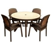 Coffee Toscana 120 Ravenna With 04 Coffee Beta Chairs