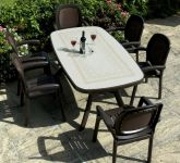 Coffee Toscana 165 Ravenna With 06 Coffee Beta Chairs