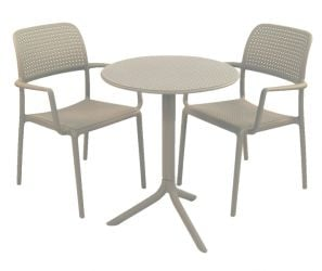 Turtle Dove Step With 02 Turtle Dove Bora Chairs