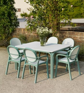 Edelweiss Lauro Standard With 06 Edelweiss Gemma Chairs
