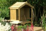 1.67m Cottage Arbour 3 Seater Enclosed