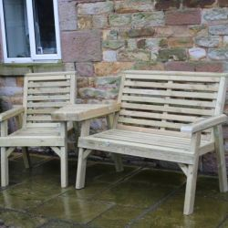 2.1m Churnet Companion Trio Seater