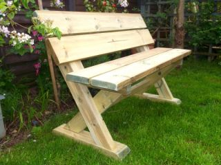 1.2m 2 Seater Ashcombe Bench