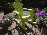 Arondeck Rocking Chair in Green