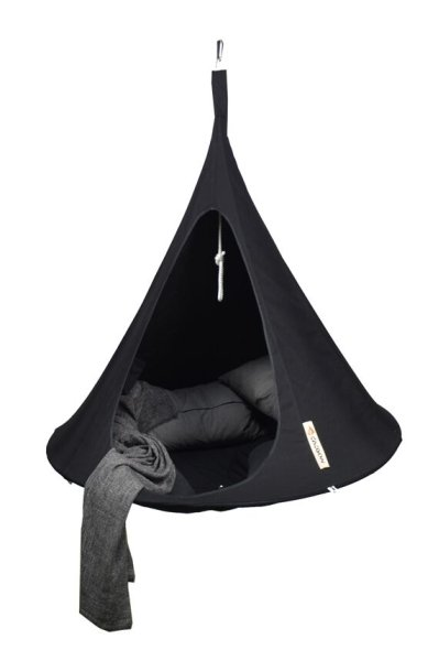 Cacoon Double in Black - Dia. 1.8m