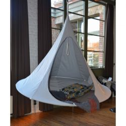 Cacoon Double in Light Grey - Dia. 1.8m