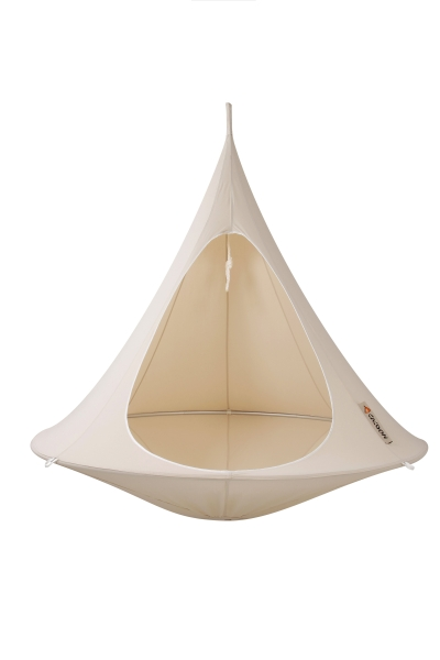 Cacoon Double in Natural White - Dia. 1.8m