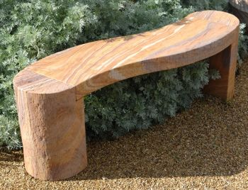 Foras Jasper 1.3m Rainbow Curved Bench
