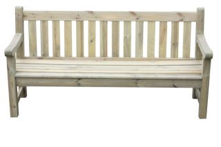 Darwin 1.83m (6ft) Wooden Garden Bench