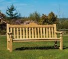 Personalised Alexander Rose Roble Rose 1.53m (5ft) Commemorative Memorial Bench