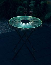 Smart Solar Sirena Table with Lights