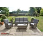 Maze Rattan - Victoria 3 Seat High Back Sofa Set