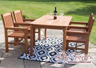 4 Seater Oakham Dining Set By Liz Frances™