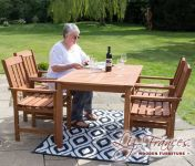 4 Seater Kendal and Richmond Dining Set by Liz Frances™