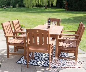 6 Seater Kendal and Richmond Dining Set by Liz Frances™