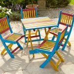 4-Seater Childrens Colourful Furniture Set