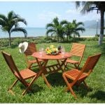 Wooden 4 Seater Dining Set