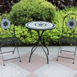 Mosaic Bistro Set - Star