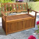 Wooden Storage Bench - 1.2m