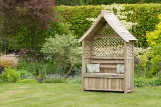2.26m (7ft 3in) Norfolk Arbour Seat Storage Box FSC® by Zest 4 Leisure®