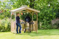 Ashton Barbeque Shelter by Zest4Leisure