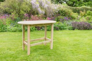 1.05m (3ft 5in) Bahama Oval Garden Table FSC® by Zest 4 Leisure®