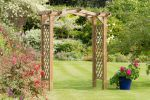 1.8m (5ft 10in) Venus Wooden Garden Arch FSC® by Zest 4 Leisure®