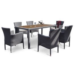 Luxury Dining Set - Light Grey