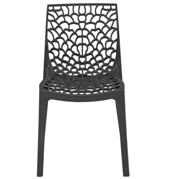 Neptune Polypropylene Chair Anthracite
