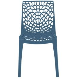 Neptune Polypropylene Chair Avio Blue